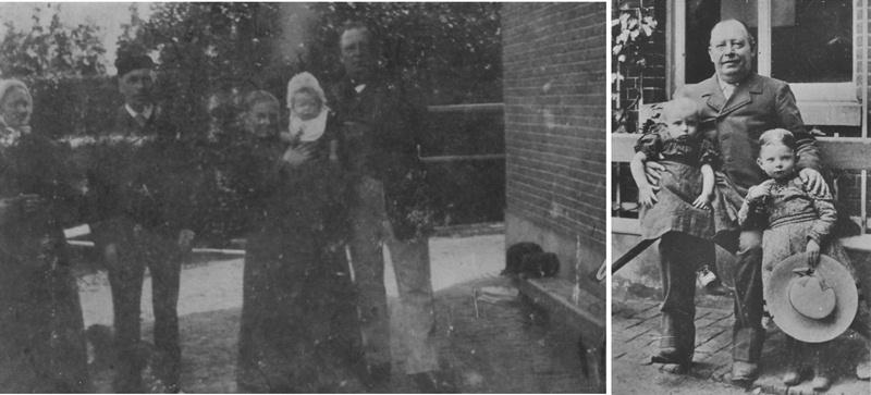 ca 1895/1900 Coenradus Hubertus van Buuren (9-4-1849) vanaf 5-5-1874 schoolmeester