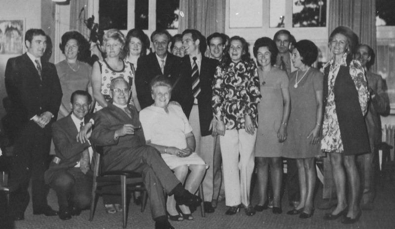 1971 40 jarig priesterfeest van pater Antoon Joseph van Rixtel