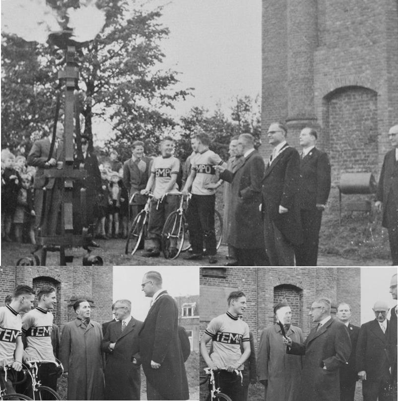 23 oktober 1954 ontsteken van het bevrijdingsvuur