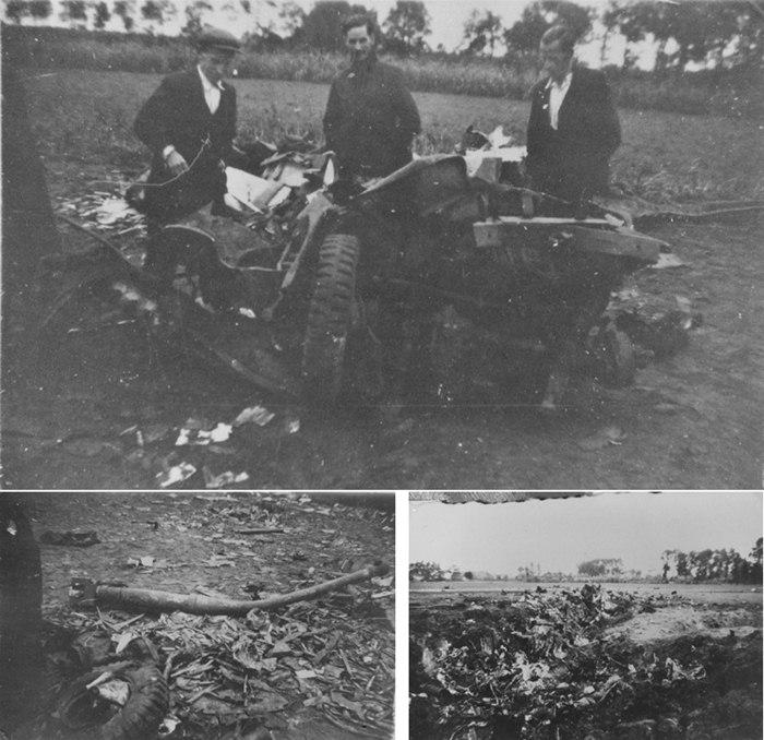 1944, 19 sept neergestorte vliegtuig in de Bleeke