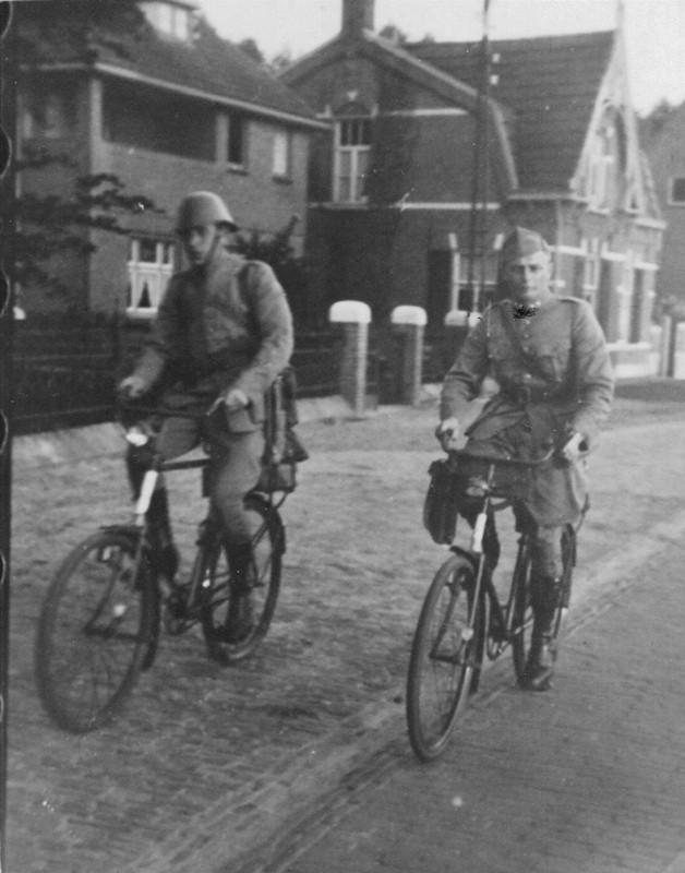 1939 Mobilisatie, Soldaat en luitenant