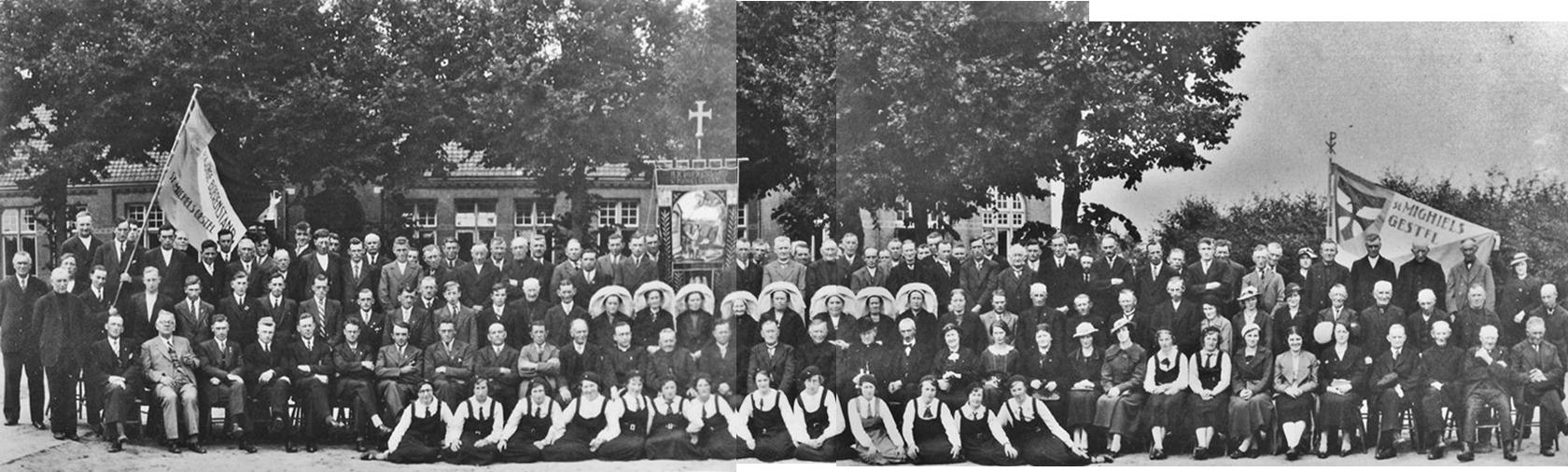 1937/38 40-jarig bestaan van de N.C.B. afdeling Sint-Michielsgestel