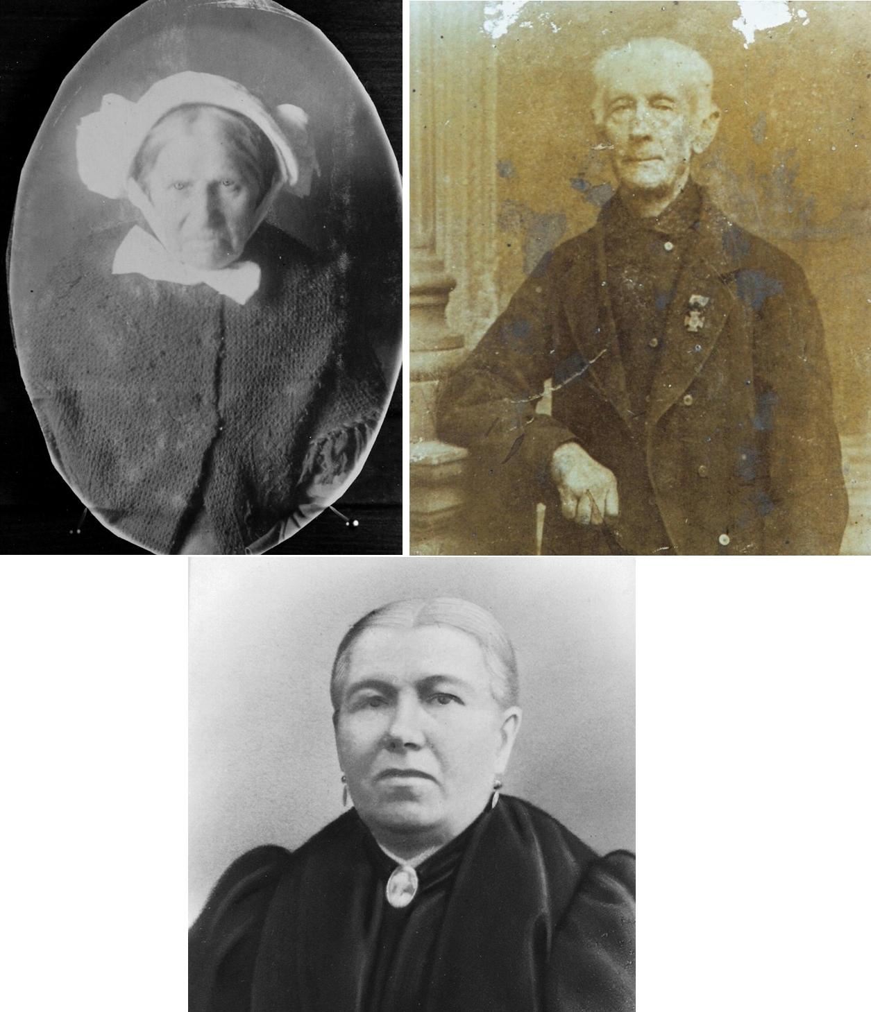 ca1910 Portretten, WIE WEET WIE HET ZIJN EN HOE HUN NAAM IS?