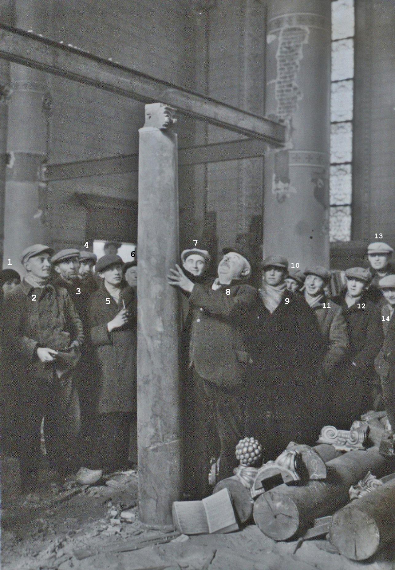 1932 Sloop en verkoop materialen oude kerk maart 1932