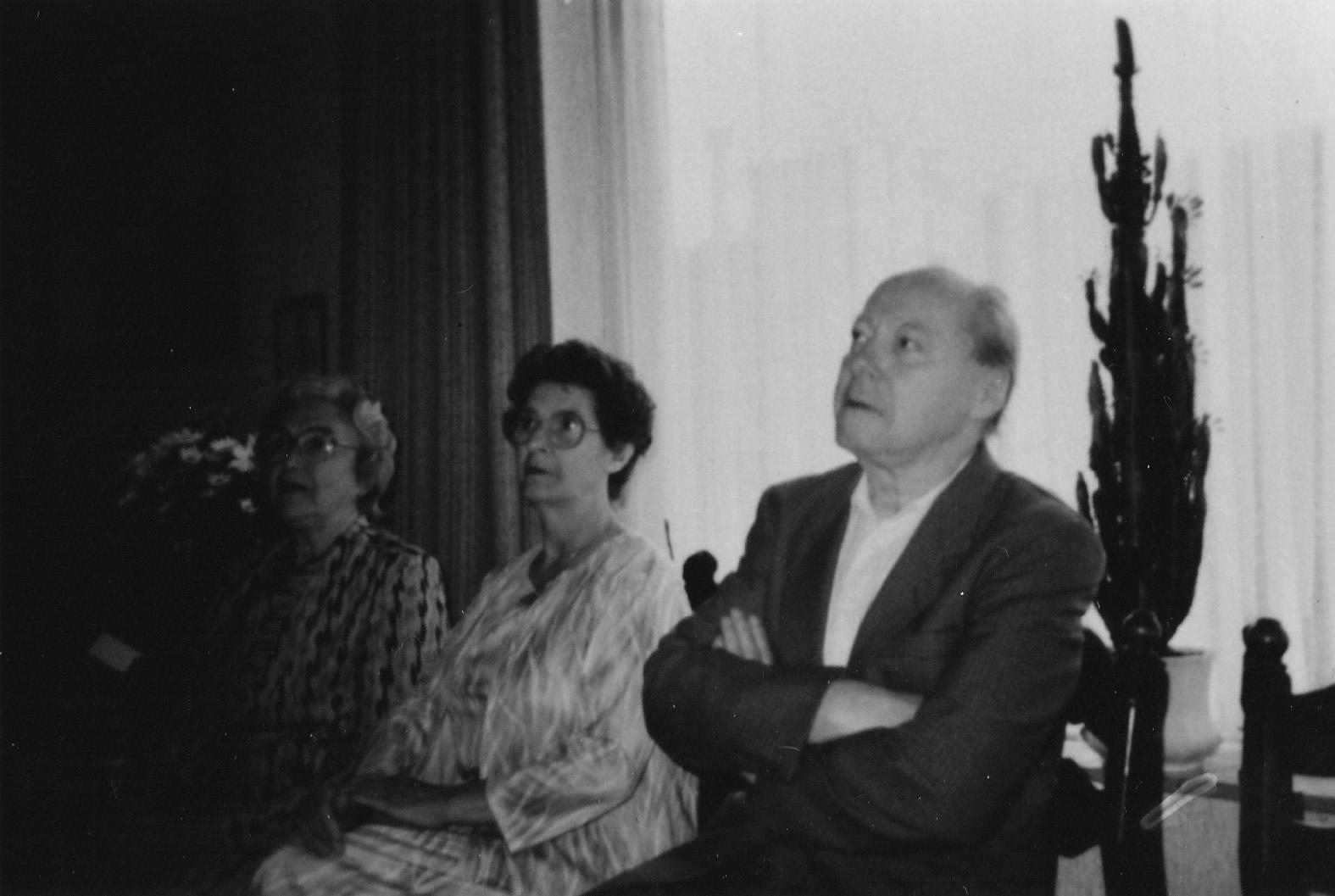 ca1980 Mw Kapteijns, Schoonzus Dien Boselie (X Harrie van den  Donk), Jan van den Donk