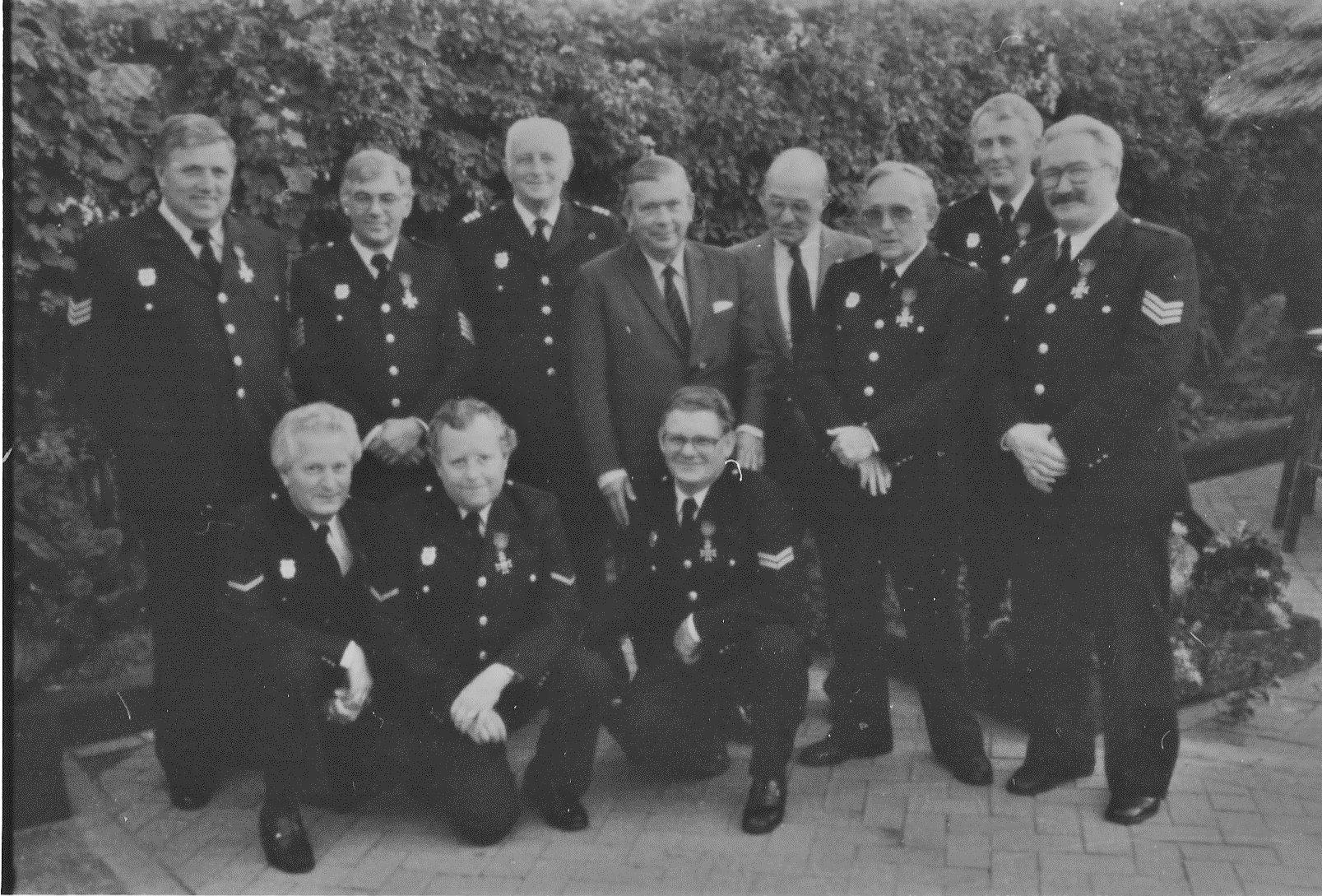 1982 Brandweer achter vd Meijden, geridderd