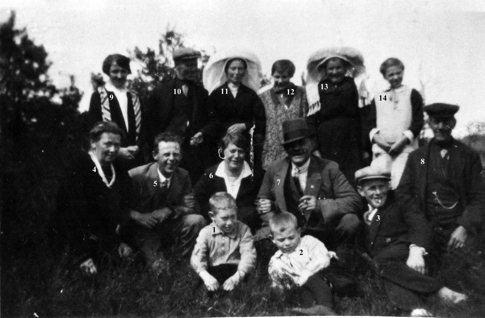 ca1944 Net na de oorlog* 25 jarig huwelijk van Piet Vos X1919* Marie Verhagen