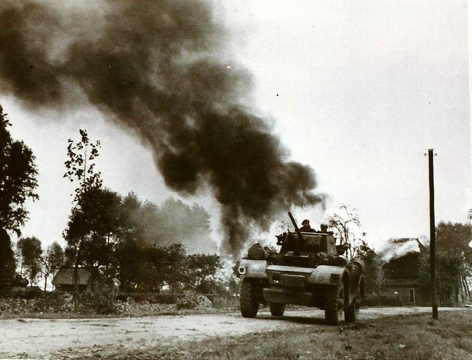 23 oktober 1944; de 51 Highland Division