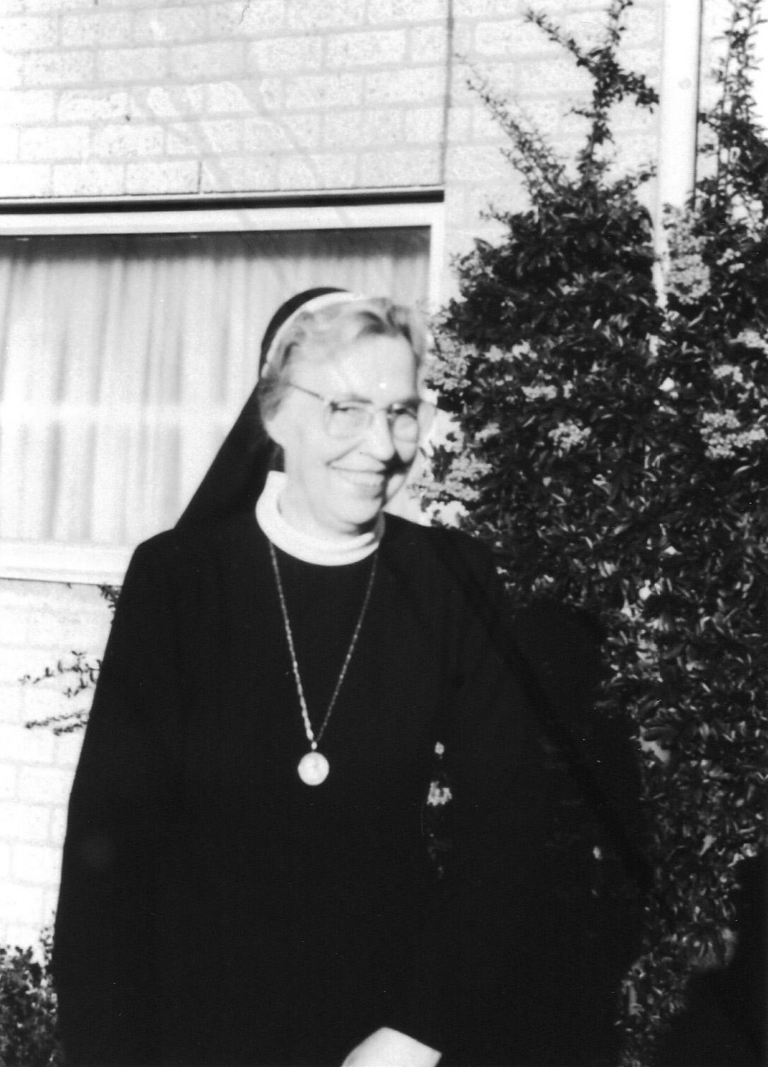 ca 1970 Zuster Immaculata van Rooij
