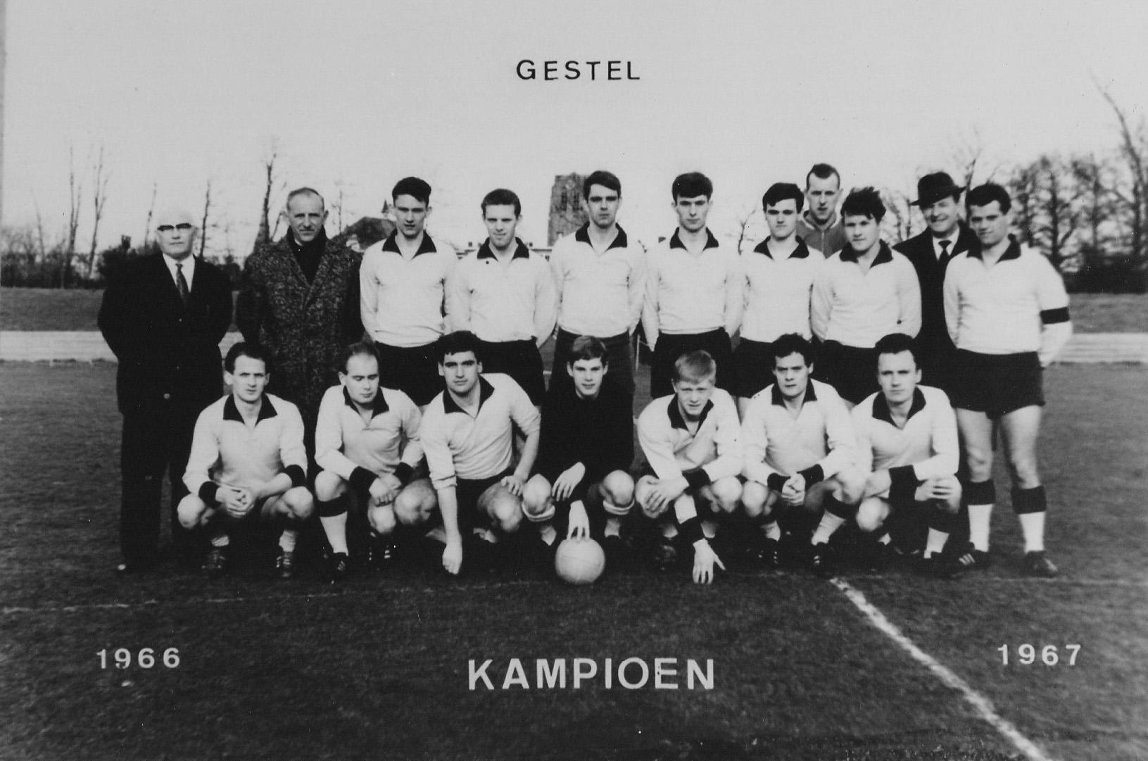 1967 Voetbalclub RKVV Sint Michielsgestel kampioen1967