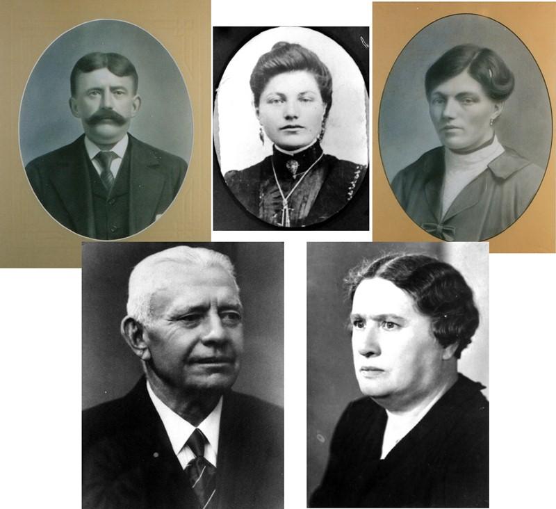 ca1925 Piet Pennings X Antje (of was het Mijntje) van der Donk, 2e huwelijk Maria van Griensven