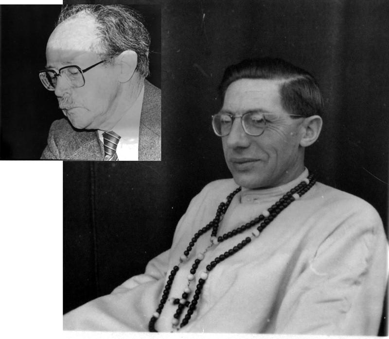 ca1970 Dr. Harrie Kapteijns en Pater Gerard Kapteijns