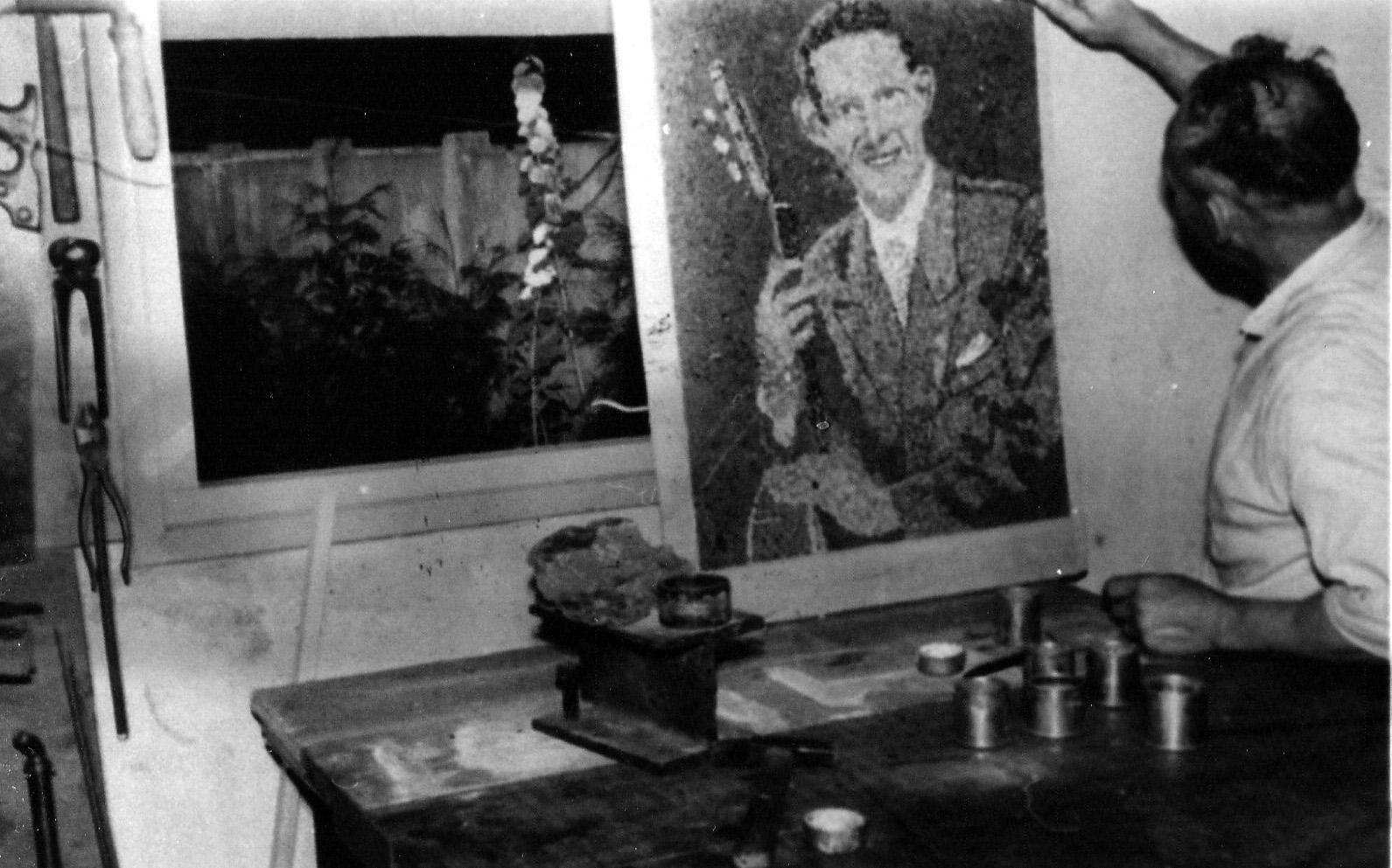 ca1970 Willem Wolfs kunstenaar