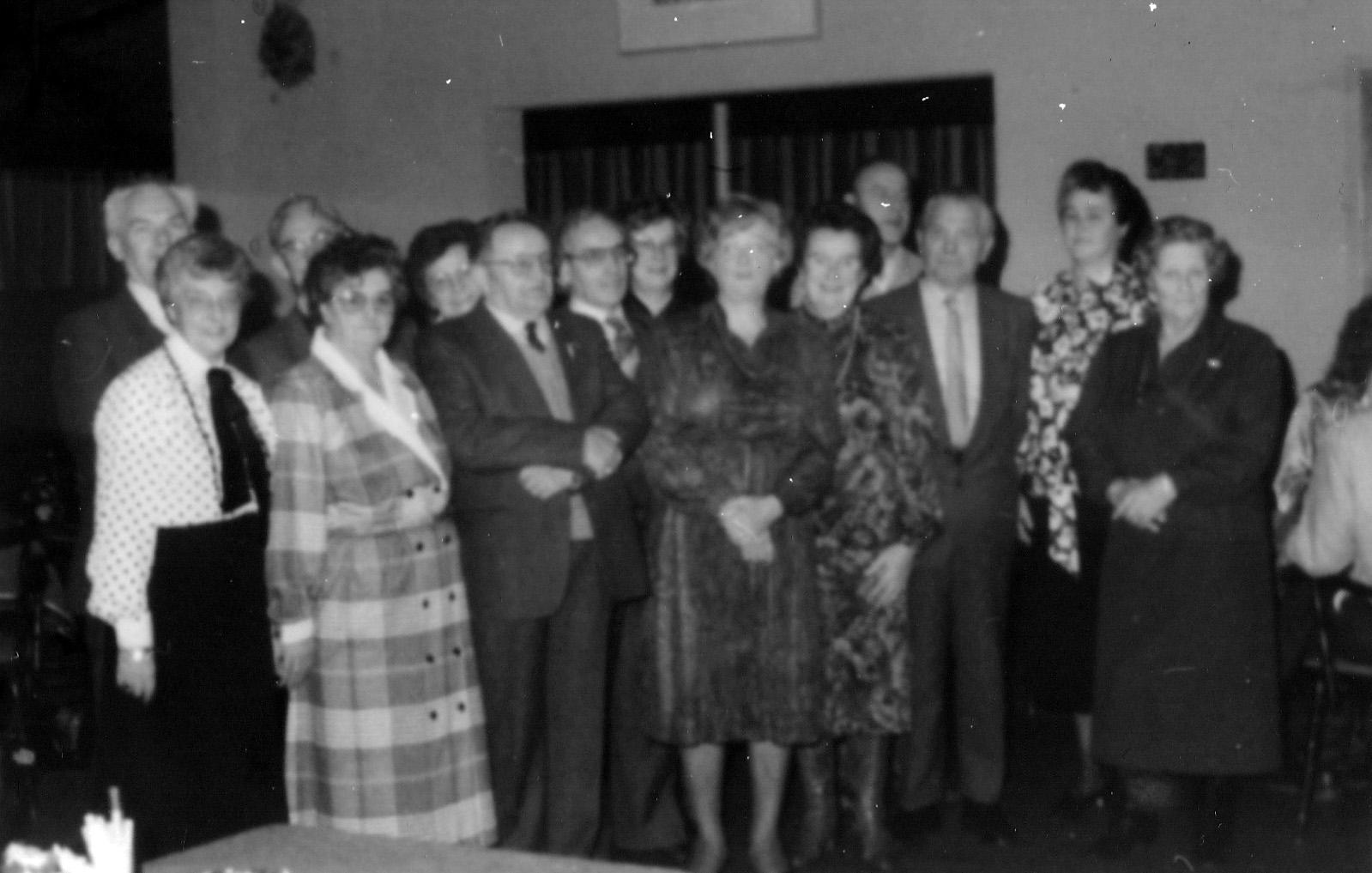 10 december 1986 Afscheid Annie Vink na 40 jaar PTT