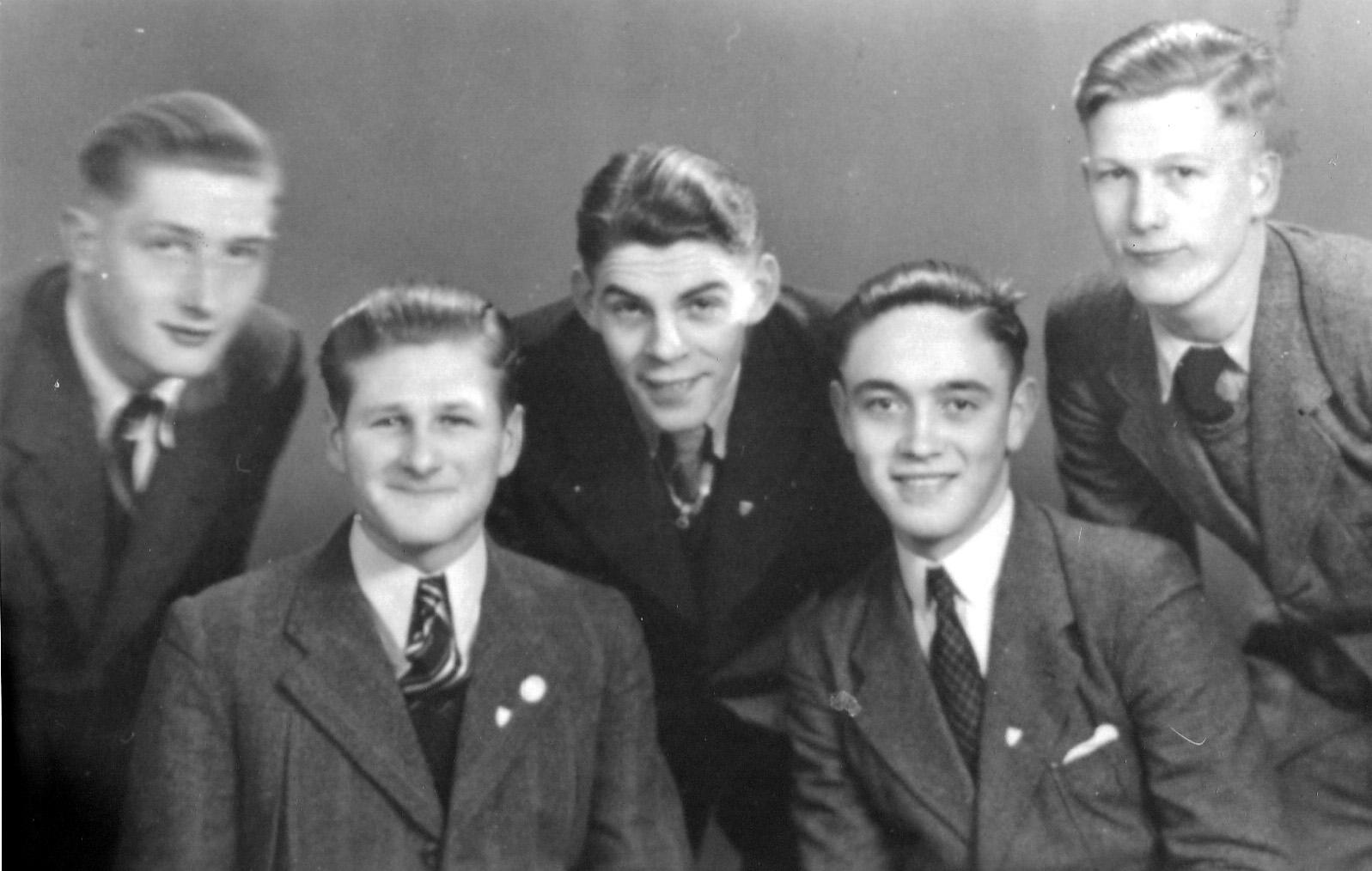 ca1945 leden van de verkenners