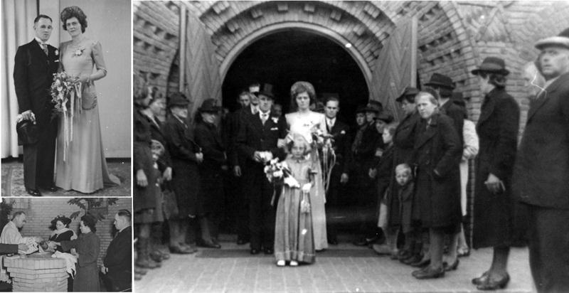 1945 15 mei Huwelijk Toon van Engelen en Netje van Vreede