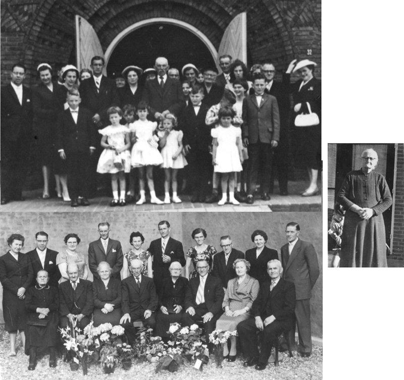 1959 50 jarig huwelijk Johannes A. van Vreede – Pietje (Petronella) van Boxtel
