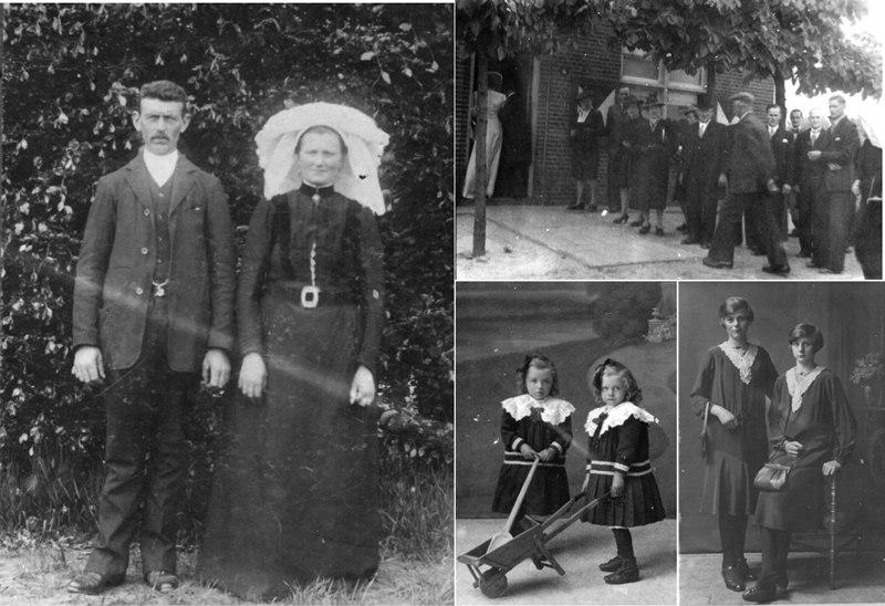 1909 Huwelijk van Toon van Vreede – van Boxtel en kinderen