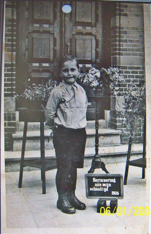 1933 Nout Schapendonk, herinnering aan mijn schooltijd