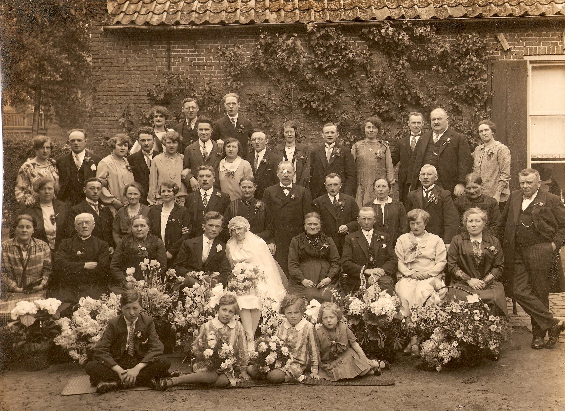 ca1930 Huwelijk van de Laar – Wouters