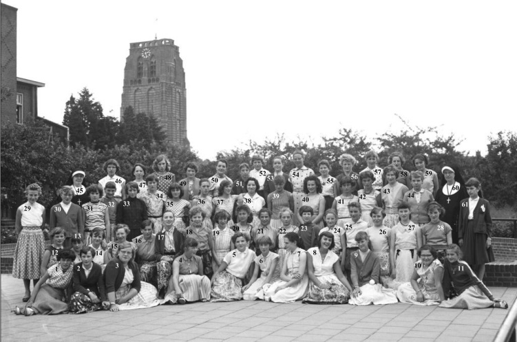 VGLO-school in 1957