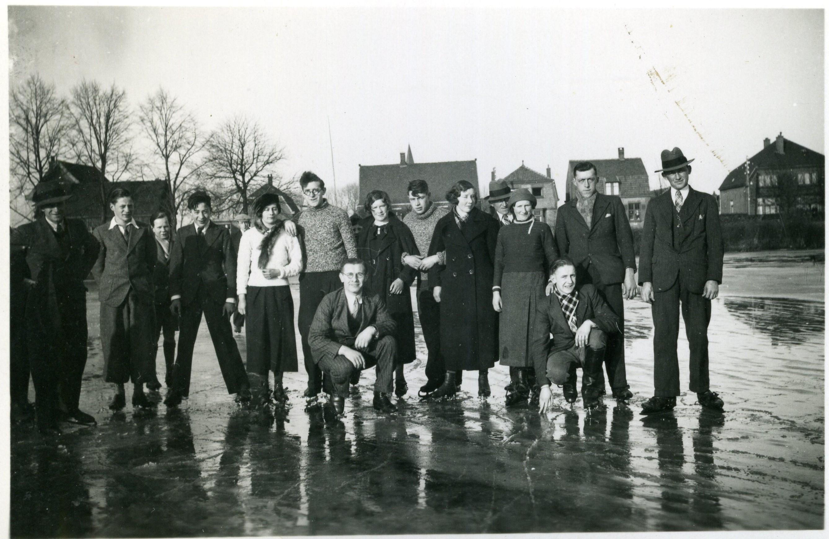 ca1939 Schaatsclub op de Beemd aan de Schijndelseweg