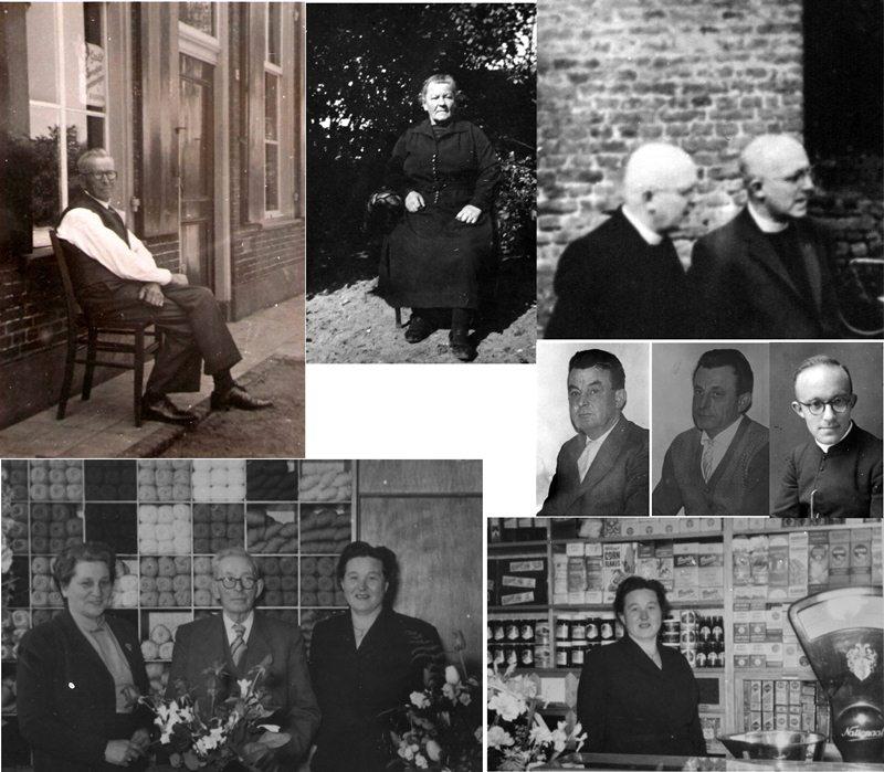 ca1955  Familie (Marinus) Opa van Hout – Oma Kluijtmans