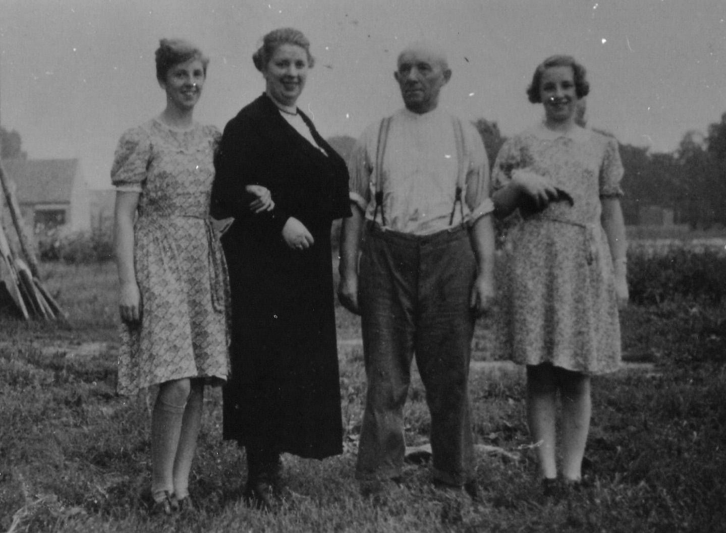 SEPTEMBER 1939 (ten tijde van de mobilisatie) Familie van de Westelaken