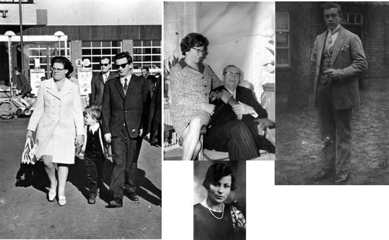 ca1955  Kinderen (Marinus) Opa van Hout – Oma Kluijtmans