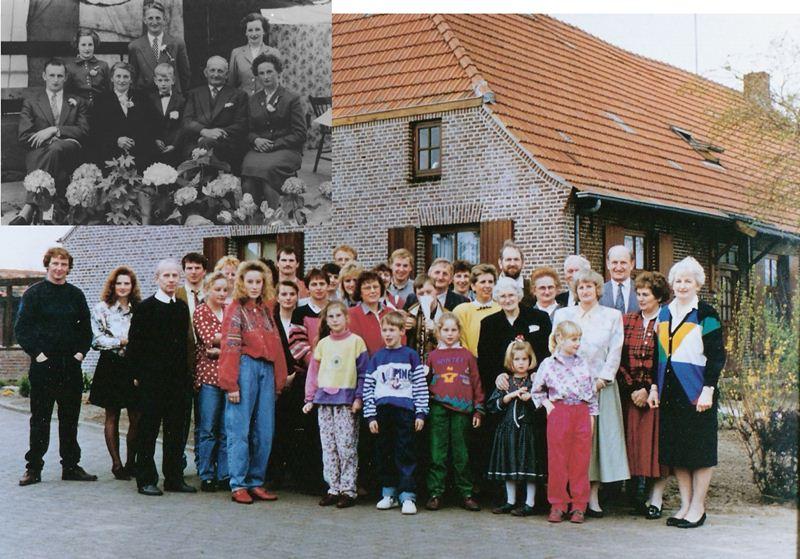 1957 Zilveren bruiloft Toon Groenendaal X Wilhelmina van Grinsven en Wilhelmina 80 jaar
