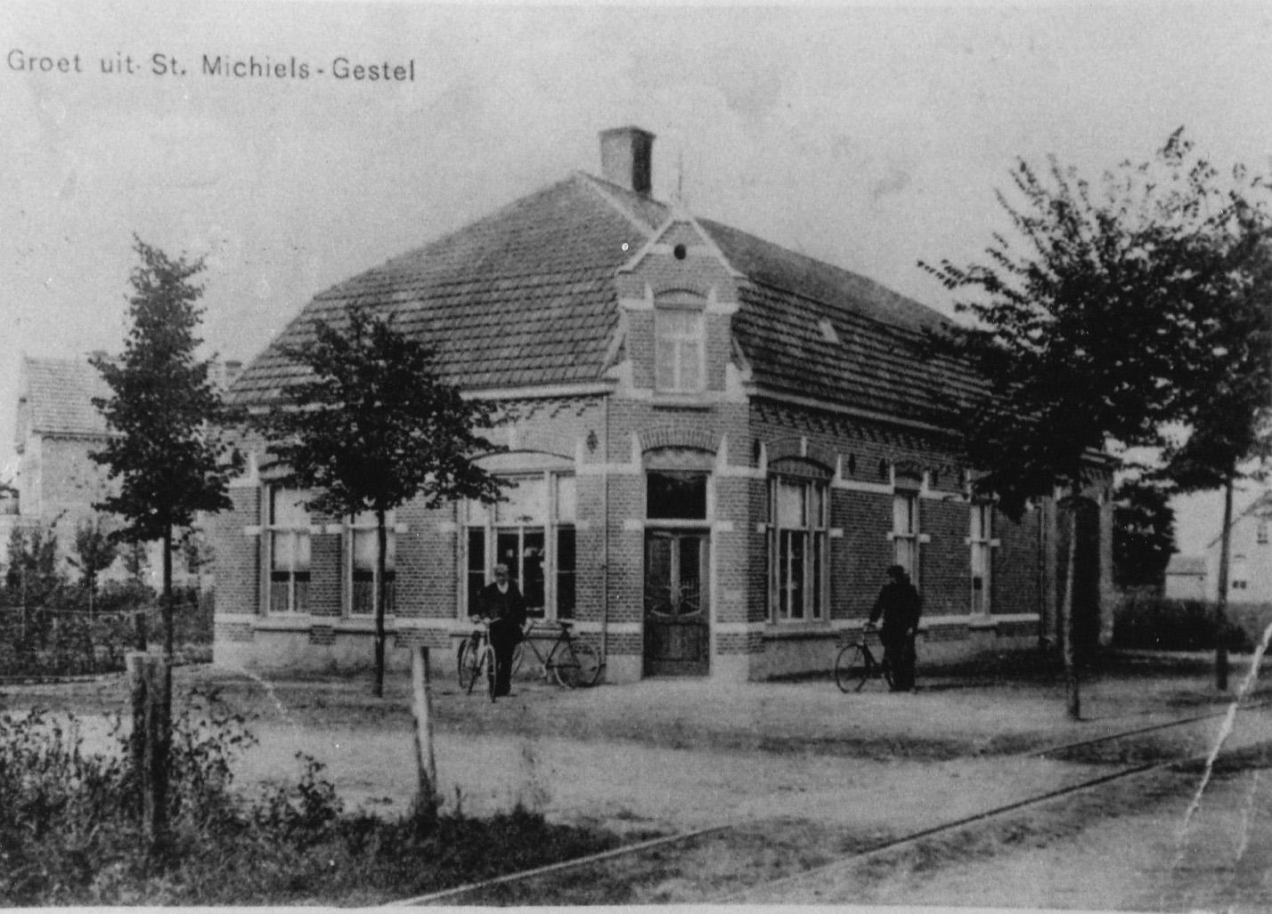 ca1920 Groeten uit St Michiels-Gestel , bij Overberg