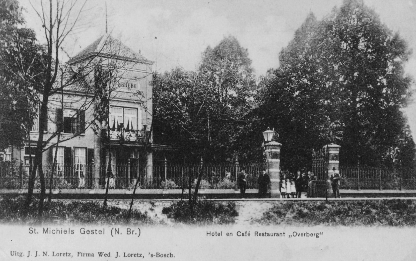 ca1925 Sint-Michielsgestel, Hotel en Café Restaurant Overberg