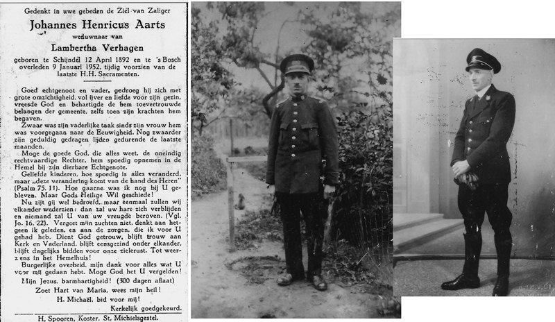 ca1935 Veldwachter Johannes Henricus Aarts [Artske]