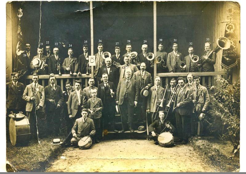 1925 Harmonie St. Michael op bezoek bij Kunst Adelt 1903 Helvoirt