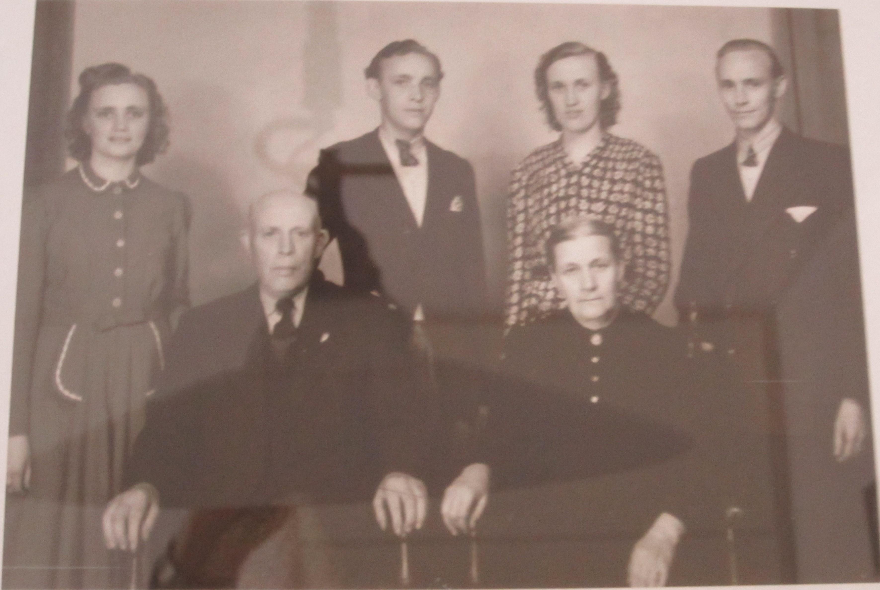 22-5-1949 25 Jr. Huwelijk, Wilhelmus Merkx (1881-1978) en Elisabeth Merkx- van Veggel (1892-1965)