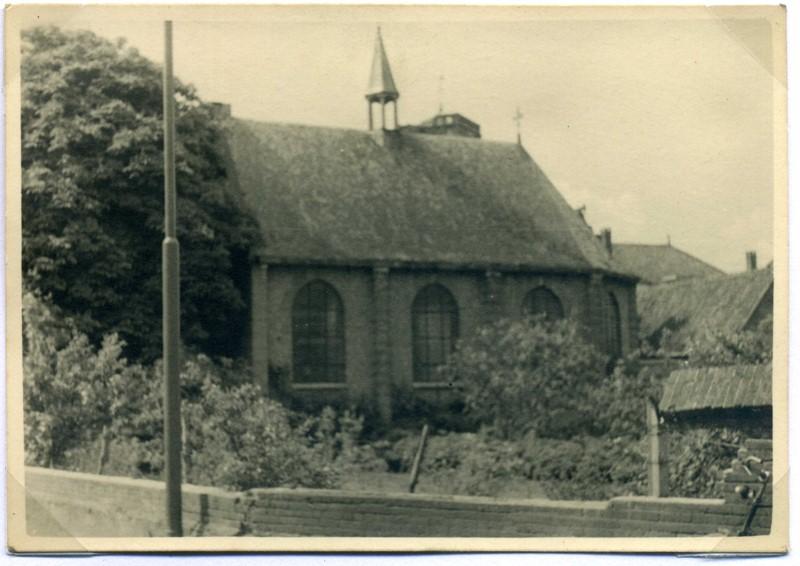 ca1955, NEDERLANDS  HERVORMDE KERK gebouwd in 1808
