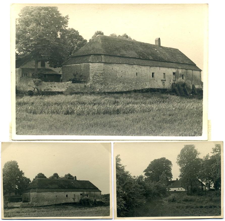 ca1955 Boerderij Oud Herlaer, staat op fundamenten van kasteel Oud Herlaer