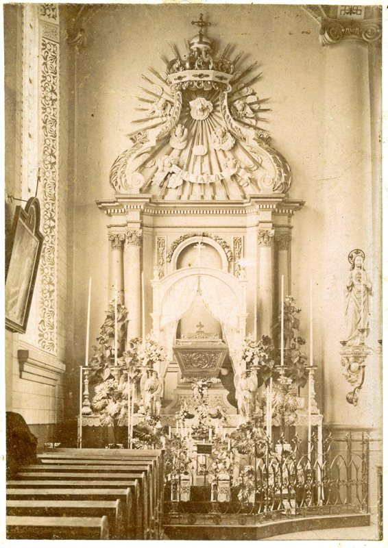 ca1901 H.(eilig) Graf op Witte Donderdag (voor Pasen) in de Oude Kerk, Petrus Dondersplein