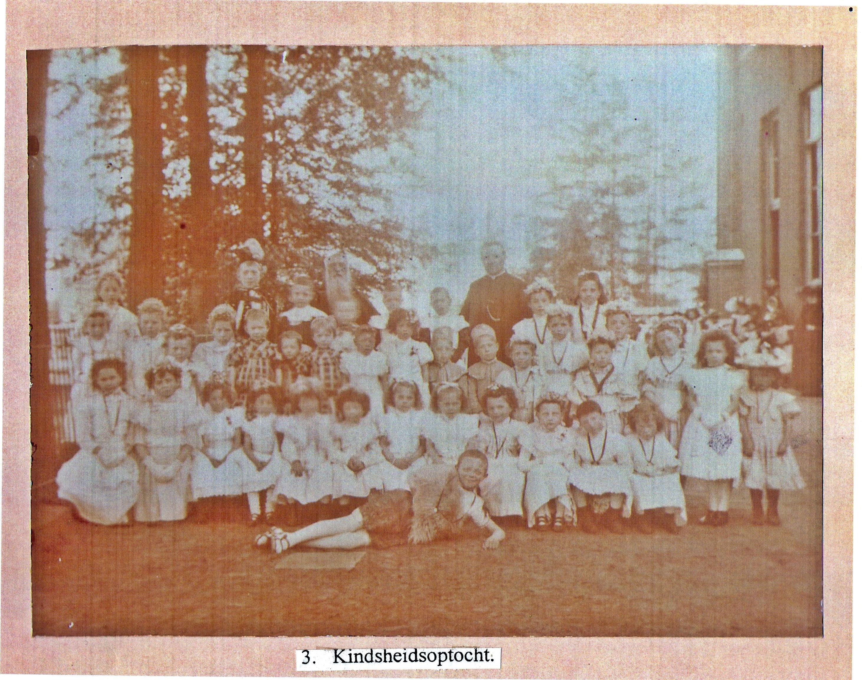 1903 / 1904 Kindsheidoptocht. Wie weet er meer van?