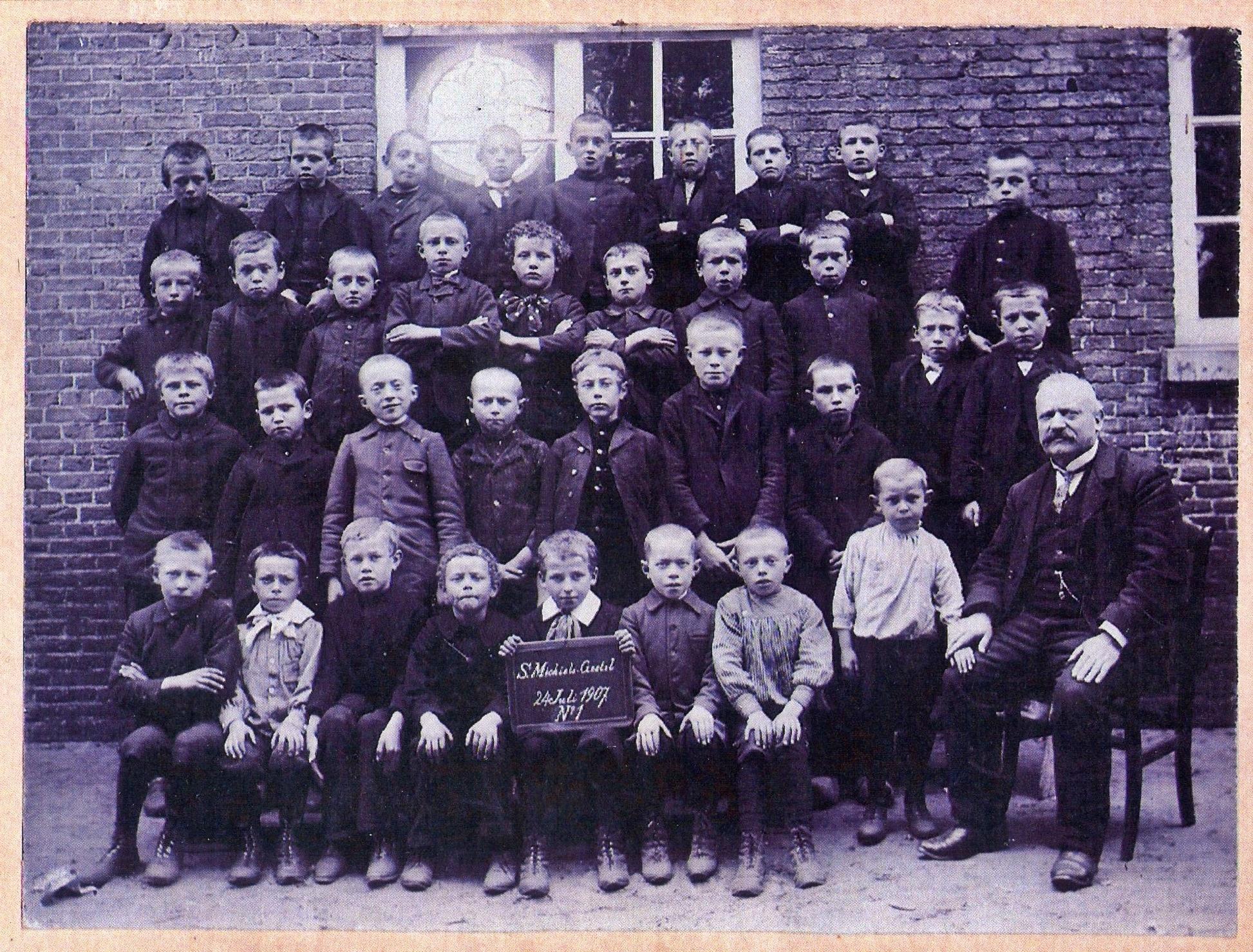1907 Klas S. Michiels Gestel 24 juli 1907. N'1