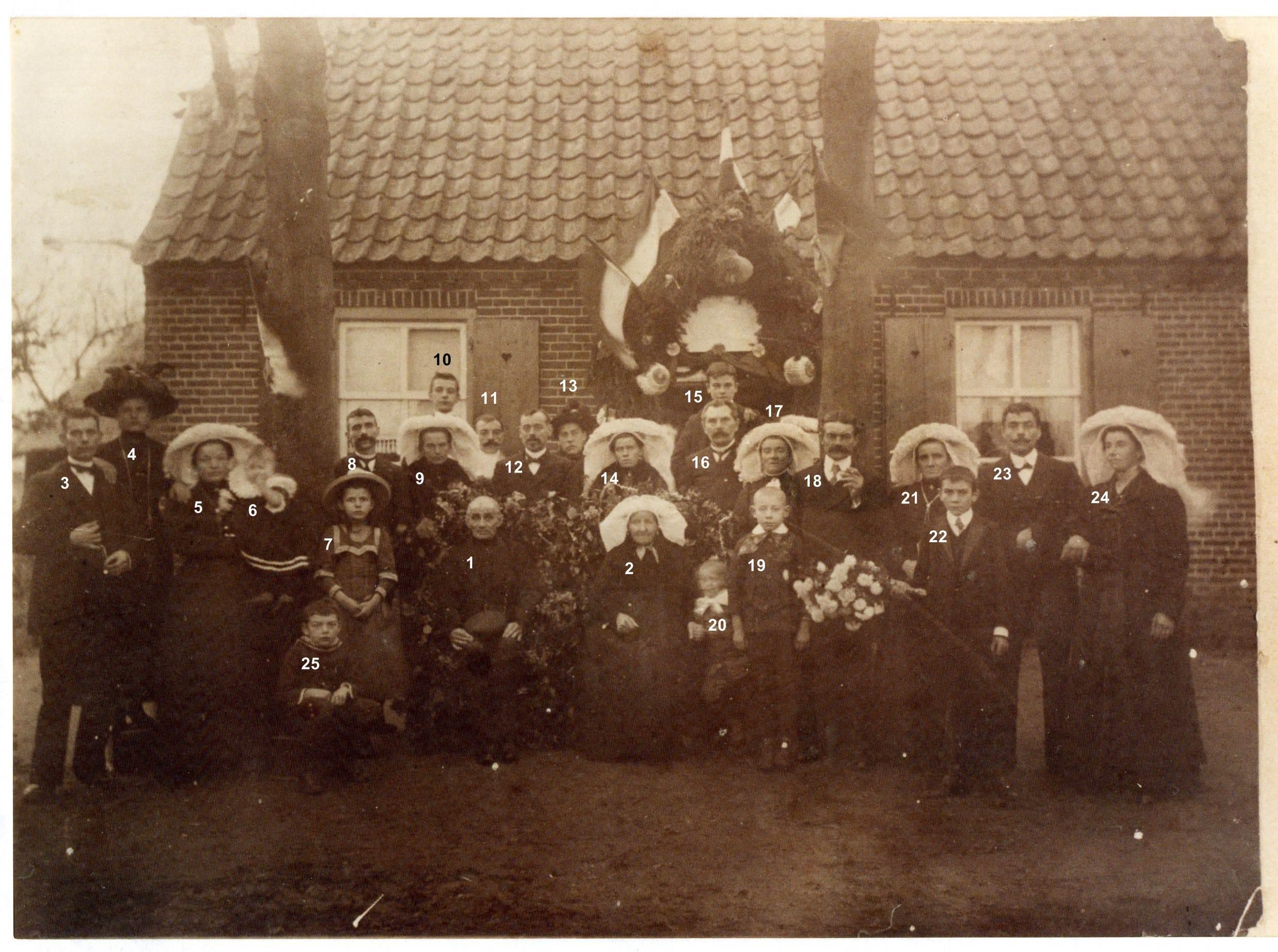 ca1913 Gouden bruiloft van Hamond - van Griensven
